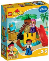 LEGO Duplo - Jake und die Nimmerland-Piraten - Schatzinsel (10604)