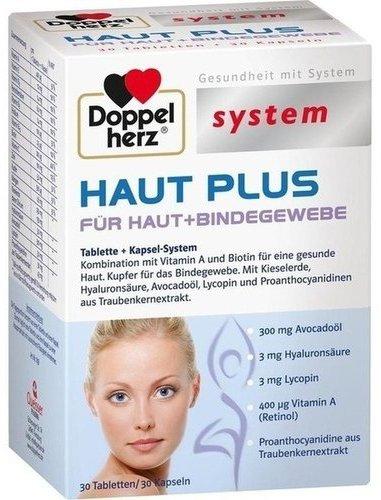Doppelherz System Haut Plus Tabletten + Kapseln (60 Stk.)