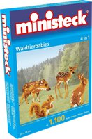 Ministeck Waldtierbabies 4in1