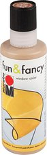 Marabu Fun & Fancy Window Color 80 ml hellbraun