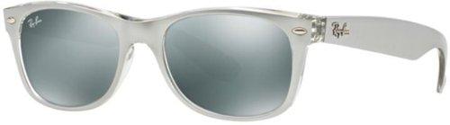 Ray Ban New Wayfarer RB2132 614440 (silver transparent/silver mirror)