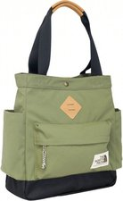 The North Face Four Point Tote burnt olive green/tnf black