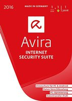 Avira Internet Security Suite 2016 (1 User) (DE) (Win) (Box)