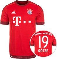 Adidas FC Bayern München Home Trikot 2015/2016 + Götze Nr. 19