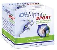 Quiris CH Alpha Sport Trinkampullen (30 Stück)