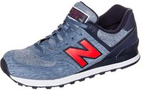 New Balance 574 Sweatshirt blue aster/navy/red (ML574TTD)