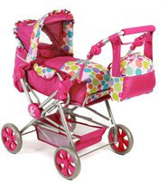Bayer Chic Road Star Puppenwagen - pinky bubbles