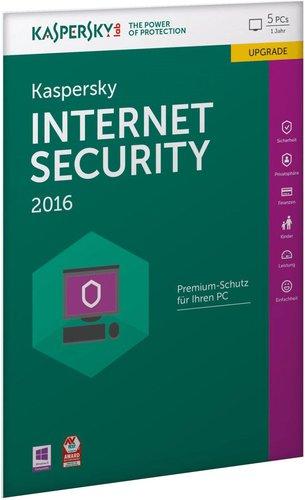 Kaspersky Internet Security 2016 Upgrade (5 User) (1 Jahr) (DE) (Win) (FFP)