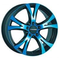 Carmani 9 Compete (6,5x16) light blau poliert
