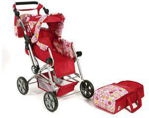 Bayer Chic Road Star Puppenwagen - ruby red
