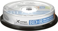 Xlayer BD-R DL 50GB 6x 10er Cakebox