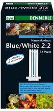 DENNERLE Nano Marinus Blue/White 2:2 36 W