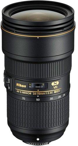 Nikon AF-S Nikkor 24-70mm f2,8 E ED VR