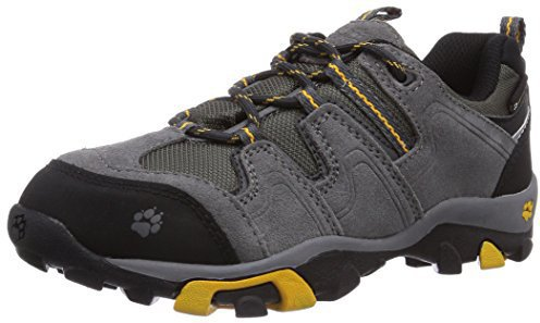 Jack Wolfskin Boys Mnt Attack Low Texapore golden yellow