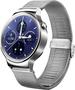 Huawei Watch Classic mit Netzarmband silber