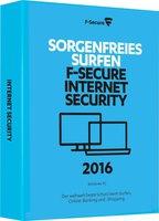F-Secure Internet Security 2016 Upgrade (1 User) (1 Jahr)