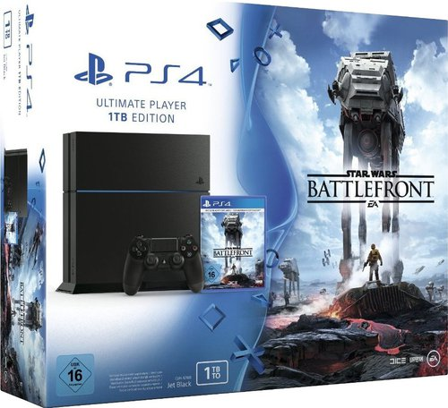 Sony PlayStation 4 (PS4) 1TB - Star Wars: Battlefront
