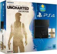 Sony PlayStation 4 (PS4) 500GB + The Nathan Drake Collection