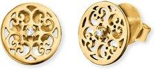 Engelsrufer Ornamentstecker crystal gold (ERE-ORNA-ZI-STG)
