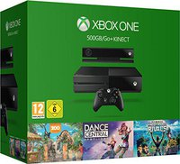 Microsoft Xbox One 500GB + Kinect + Dance Central: Spotlight + Kinect Sports: Rivals + Zoo Tycoon