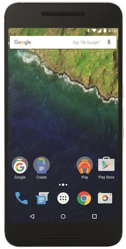 Huawei Nexus 6P 64GB Silver ohne Vertrag