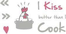 Komar I kiss better than I cook