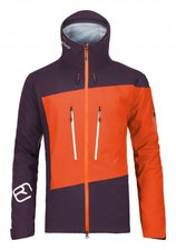 Ortovox Merino Guardian Shell Jacket M Crazy Orange