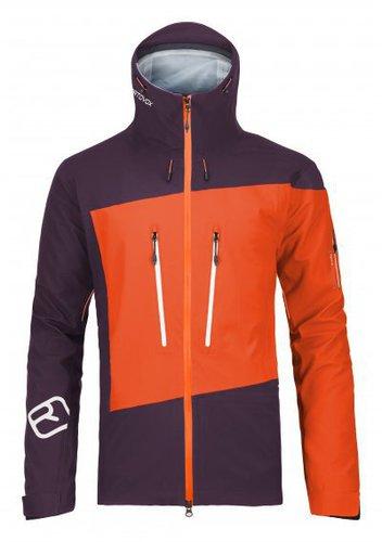 Ortovox Merino Guardian Shell Jacket M Crazy Orange