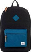 Herschel Heritage Backpack black/ink blue rubber