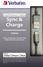 Verbatim Lighting Sync & Charge 120 cm