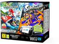 Nintendo Wii U Mario Kart 8 + Splatoon Premium Pack