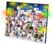 Unold Adventskalender Weihnachtsmarkt