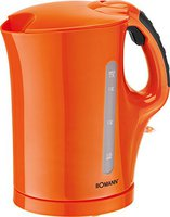 Bomann WK 5011 CB Orange 1,7 Ltr.