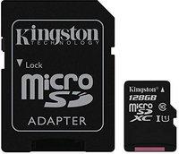 Kingston microSDXC 128GB UHS-I Class 10 (SDC10G2/128GB)
