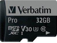 Verbatim Pro microSDXC 64GB UHS-I U3 (47042)