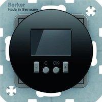 Berker RTR mit Schließer digital schwarz glänzend (20452045)