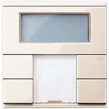 Merten Raumtemperaturregler mit Display weiß glänzend