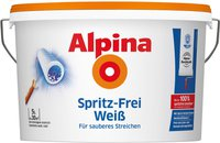 Alpina Farben Spritz-Frei Weiss 5 l