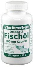 Hirundo Products Omega 3 Fischöl Kapseln 500 mg (120 Stk.)