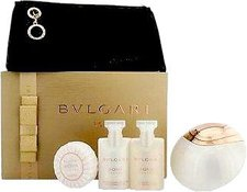 Bulgari / Bvlgari Aqva Divina Gift Set (EdT 65 ml + BL 40 ml + SG 40 ml + soap 50 gr + BB)
