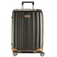Samsonite Lite-Cube Spinner DLX 76 cm dark olive/black