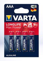 Varta AAA Max Tech Batterie 4 St. (4703110404)