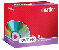 Imation DVD+R DL 8,5GB 240min 8x 5er Jewelcase