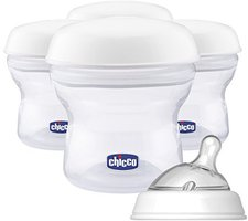 Chicco Milch-Aufbewahrungs-Set Natural Feeling PP