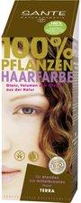 Sante Pflanzen-Haarfarbe Terra Erdbraun (100 g)
