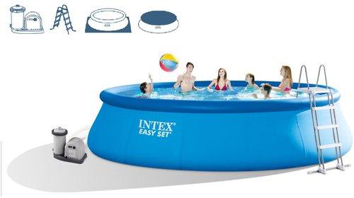 Intex Pools Easy-Pool-Set 549 x 122 cm mit Kartuschenfilteranlage