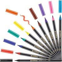 edding 1340/12 S Brush Pen 10 Farben