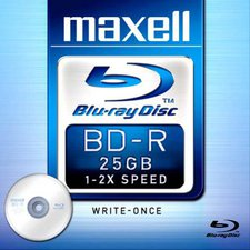 Maxell BD-R 25GB 135min 2x 1er Jewelcase