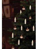 Hellum Weihnachtsbaumkerzen kabellos 10er (602555)