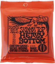 Ernie Ball Skinny Top Heavy Bottom Nickel Wound .010 - .052 Red pack
